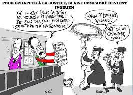 Pour echapper a la justice Blaise Campaore devient ivoirien