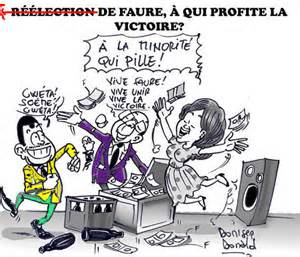 Reelection of Faure- Who benefits from the victory