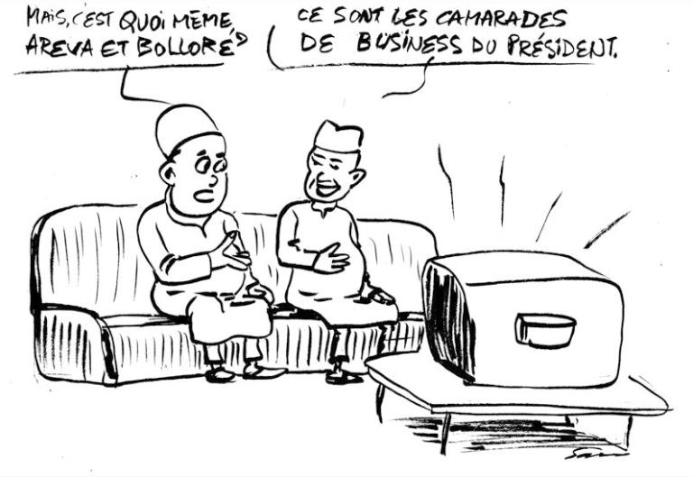 Sam Areva au Niger