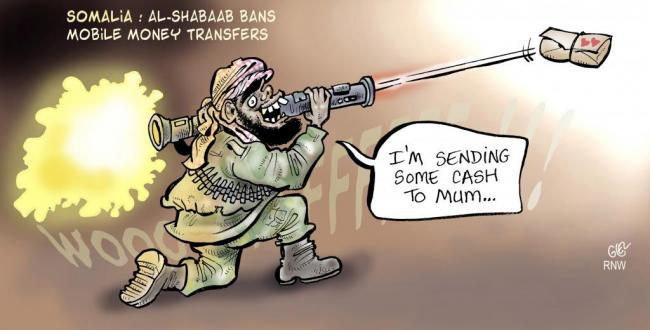 Damian Glez - Somalia: Al-Shabaab Bans Mobile Money Transfers