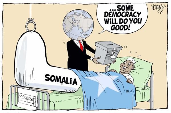 Some democracy for Somalia