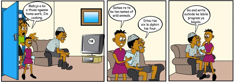 Tebogo Motswetla - Animals