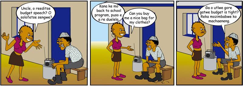 Tebogo Motswetla - Budget