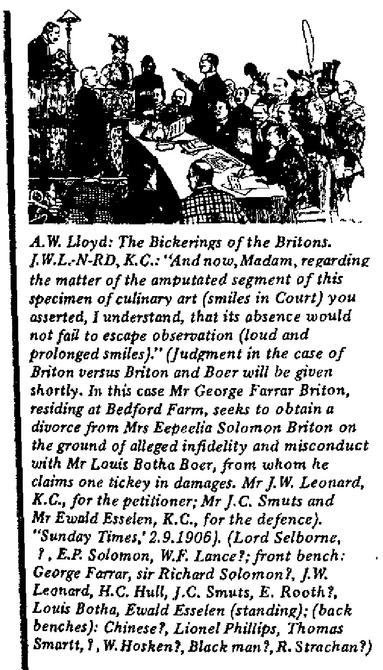 A.W. Lloyd - The Bickerings of the Britons