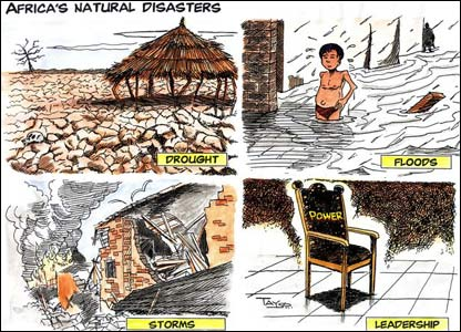 africas natural disasters empty leadership included