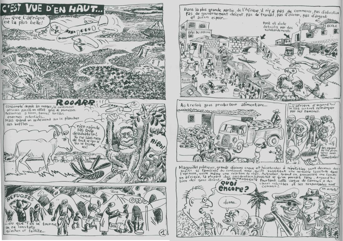 Anselme Razafindrainibe C Est Vue D En Haut Africa Cartoons