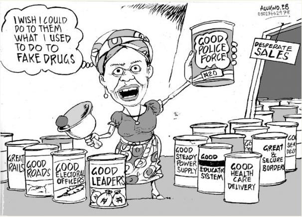EB Asukwo- Desperate Sales cartoon