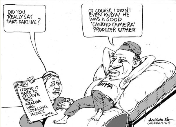 EB Asukwo- Did you Really Say cartoon