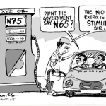 EB Asukwo- Gas Stimulus cartoon