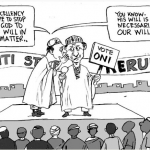 EB Asukwo- Not Our Will cartoon