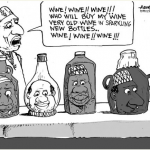 EB Asukwo- Old Wine New Bottles cartoon