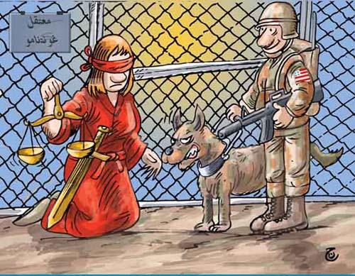 Naji Benaji - Threatening Lady Justice