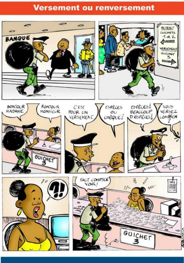 bob kanza - Versement ou Renversement