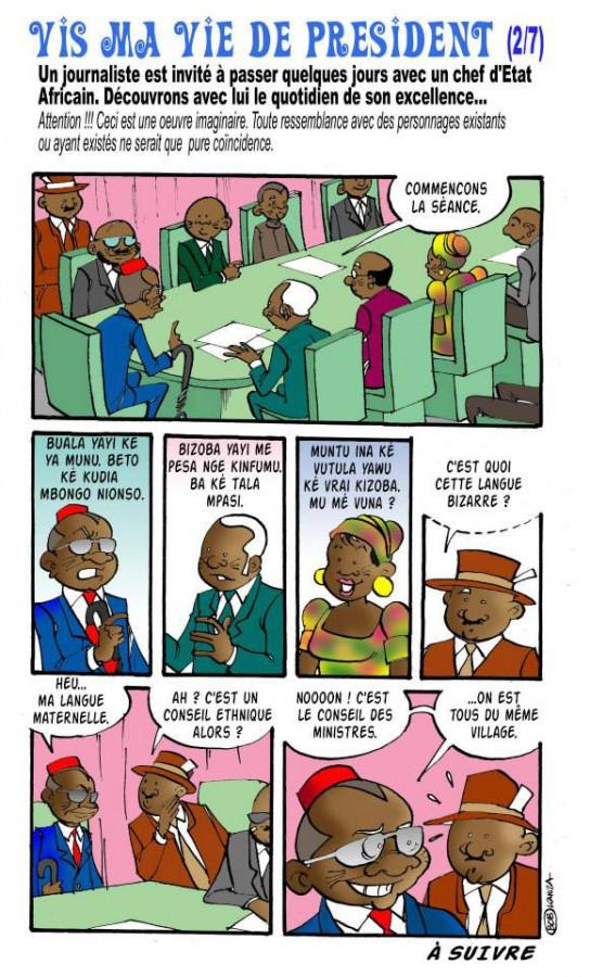 bob kanza - vis ma vie de president