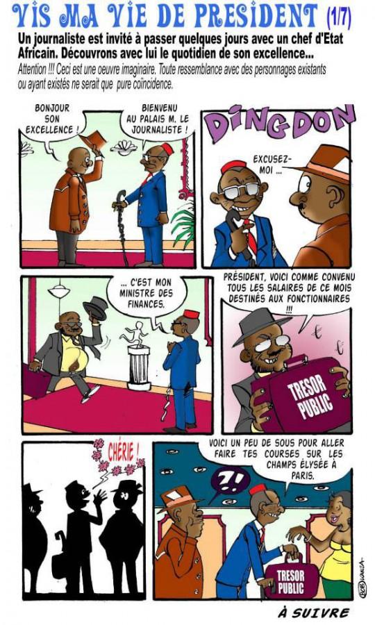 bob kanza - vis ma vie de president1