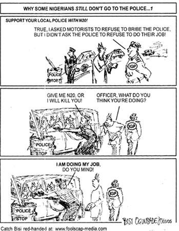 Bisi Ogunbadejo - Why Some Nigerians Still Don't Go to the Police, 1