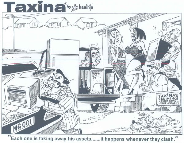 Vic Kasinja - Taxina's Men Taking Away her Things