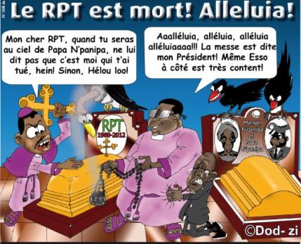 dod-zi - le RPT est mort