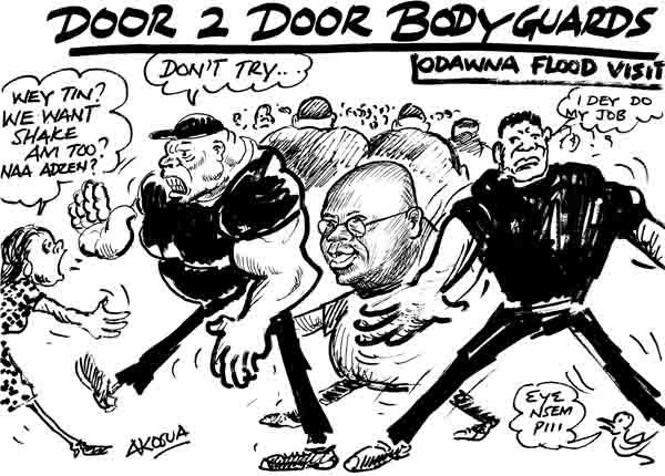 Akosua- Door 2 Door bodyguards