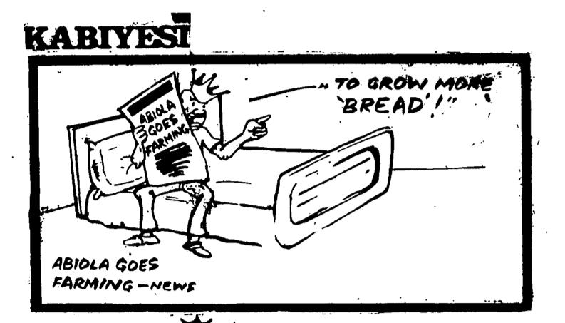 Dotun Gboyega- Abiola Goes Farming cartoon