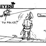 Dotun Gboyega- Et Tu Police cartoon