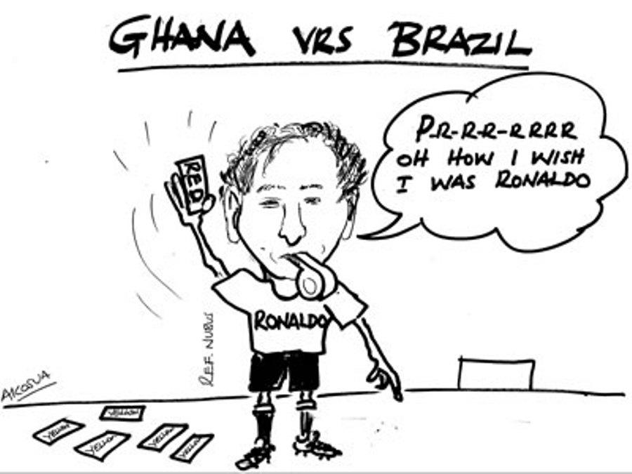 Akosua-Ghana vs Brazil