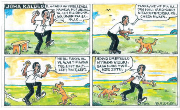 gitau-juha Kalulu mchezo