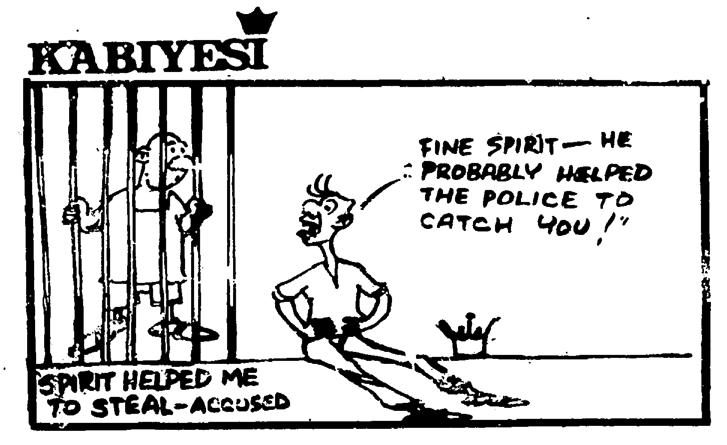 Dotun Gboyega- Spirit Helped cartoon