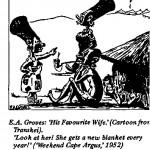 E.A. Groves- His Favorite Wife cartoon