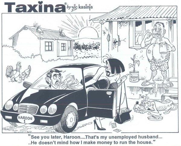 Vic Kasinja - Taxina's Unemployed Husband