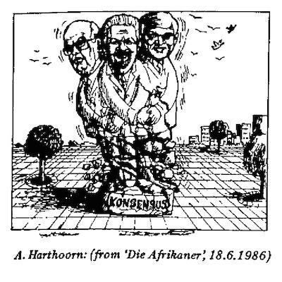 Anne Harthoorn- Konsensus cartoon