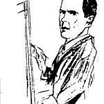 Alf Hayes- Self Portrait