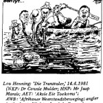 Lou Henning- Angler in the Boat cartoon