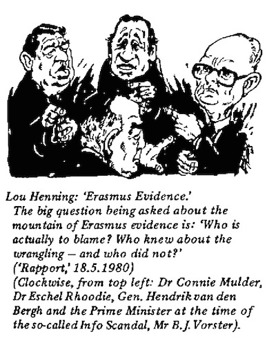 Lou Henning- Erasmus Evidence cartoon