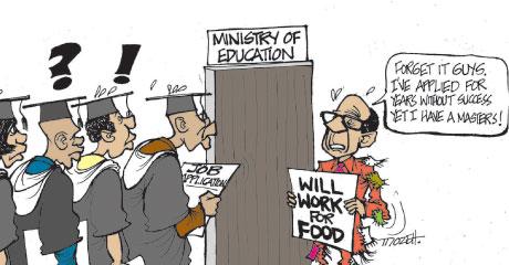 Balagadde - Employment
