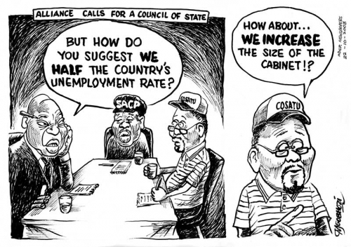 Wilson Mgobhozi - Alliance Calls for a Council of State