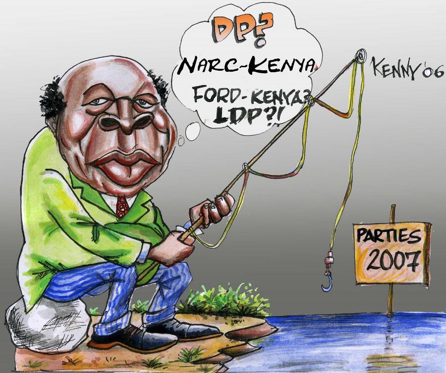 kaburu-Kibaki Fishing