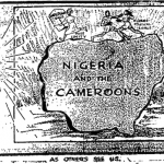 Akinola Lasekan- As Others See Us cartoon
