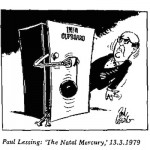 Paul Lessing- INFA Cupboard cartoon