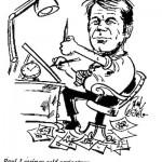 Paul Lessing- Self Caricature