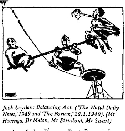 Jock Leyden- Balancing Act cartoon