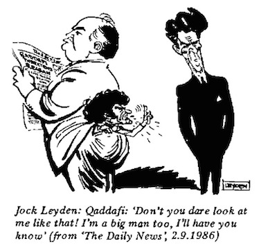 Jock Leyden- Don't Look at Me cartoon