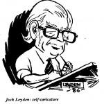 Jock Leyden- Self Caricature