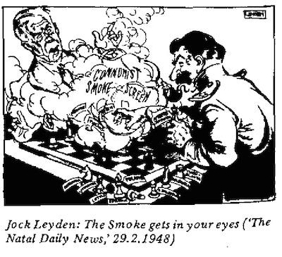 Jock Leyden- Smoke Gets In Your Eyes cartoon