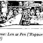 Len Lindeque- Le Se Pen cartoon