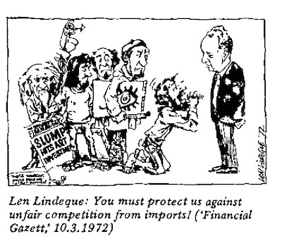 Len Lindeque- Protect Us cartoon