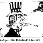 Len Lindeque- Uncle Sam cartoon