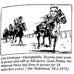 Len Lindeque- Unstoppable cartoon