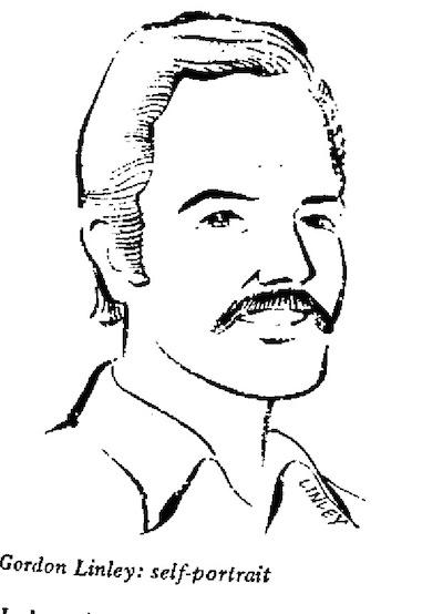 Gordon Linley- Self Portrait