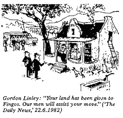 Gordon Linley- We'll Help You Move cartoon
